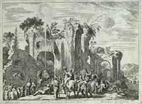 [1670], [Pokłon Trzech Króli] [Dokument ikonograficzny] / J. W. Baur inv. ; Melchior Küsell fecit