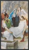 [Złożenie do grobu] : [zespół obrazków religijnych] [Dokument ikonograficzny]