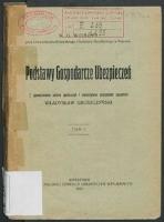 Podstawy gospodarcze ubezpieczeń / K. G. Wobłyj