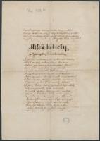 Żmichowska, Narcyza, (ca 1846), Miłość kobiety p. Gabryellę Żmichowską