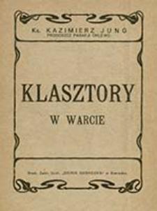 Klasztory w Warcie / Kazimierz Jung proboszcz parafji Chlewo