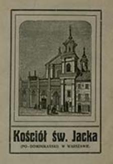 Kościół św. Jacka (po-Dominikański) w Warszawie