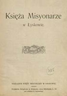 Księża misyonarze w Łyskowie / Smora