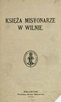 Księża Misyonarze w Wilnie / Smora