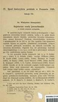 Najstarsze osady jerozolimskie : w świetle ostatnich wykopalisk / Władysław Szczepański