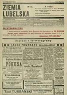 Ziemia Lubelska : wychodzące codzień - niezależne pismo demokratyczne