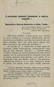 Z przeszłości obydwóch Zgromadzeń w zaborze rosyjskim. 1, Wspomnienie o Siostrach Miłosierdzia w Gródku i Tepliku / [Smora]