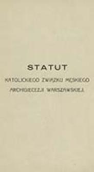 Statut Katolickiego Związku Męskiego Archidiecezji Warszawskiej