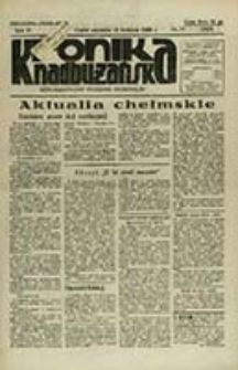 Kronika Nadbużańska : Demokratyczny Tygodnik Regionalny