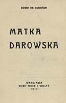 Matka Darowska / Roger Łubieński