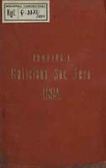 Catalogus Sociorum et Officiorum Provinciae Galicianae Societatis Jesu ex Anno ...
