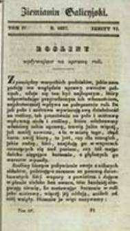 Ziemianin Galicyjski : pismo poświęcone gospodarstwu krajowemu