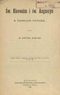Św. Hieronim i św. Augustyn a literatura świecka / napisał Antoni Danysz