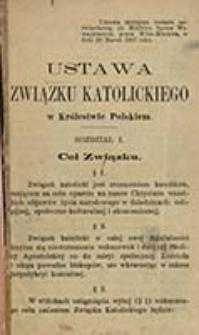 Ustawa Związku Katolickiego w Królestwie Polskiem