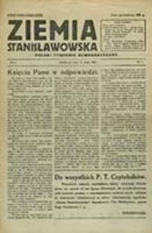 Ziemia Stanisławowska : polski tygodnik demokratyczny / [redaguje w im. kom. red. Franciszek Pawliszak ; odpow. red.: Koszyński Kazimierz]