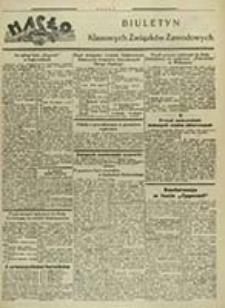 Hasło : biuletyn Klasowych Związków Zawodowych / [red. odp. Stefanja Glisczyńska]