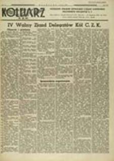 Kolejarz C.Z.K. : poświęcony sprawom Centralnego Związku Zawodowego Pracowników Kolejowych R. P. / pod red. Karczmarewicza Mieczysława