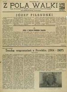 Z Pola Walki : Organ Stowarzyszenia b. Więżniów politycznych P. P. S. d. Frakcji Rewolucyjnej / [red. odp. Stefanja Glisczyńska]