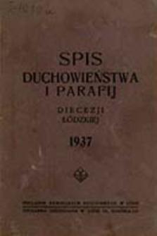 Spis Duchowieństwa i Parafij Diecezji Łódzkiej