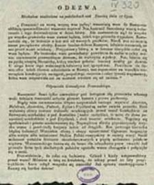Odezwa Moskalów znaleziona na podsłuchach nad Dźwiną dnia 17 lipca [...] : odpowiedź Grenadyera Francuzkiego