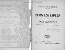 Pierwsza lepsza czyli nauka zbawienna : komedya w jednym akcie, wierszem / Aleksander Fredro.