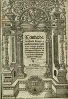Reinharda Lorichiusa Kxięgi o wychowaniu y o czwiczeniu każdego przełożonego, nie tylko panu ale y poddanemu każdemu ku czytaniu barzo pożyteczne : teraz nowo z łacińskiego ięzyka na polski przełożone