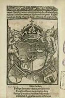 Ioannis Dantisci Carmen extemporarium de victoria insigni ex Moschis Illustrissimi principis Sigismundi dei gratia Regis Poloni[a]e Rusi[a]e Prusi[a]e Magniq[ue] ducis Lithuani[a]e d[omi]ni atq[ue] heredis