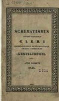 Schematismus Universi Venerabilis Cleri Archidioeceseos Metropolitanae Graeco Catholicae Leopoliensis pro Anno Domini ...