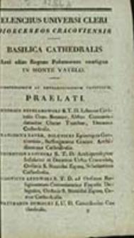 Elenchus Universi Cleri Dioeceseos Cracoviensis