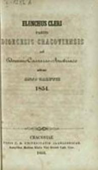 Elenchus Cleri Partis Dioecesis Cracoviensis sub Dominio Caesareo-Austriaco Sitae
