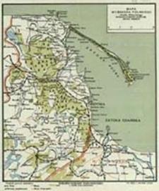 Mapa wybrzeża polskiego Józefa Winnickiego / uzup. Michał Winnicki