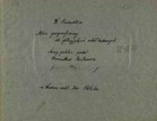 [W. Haardta Atlas geograficzny dla galicyjskich szkół ludowych / W. Haardt ; nazwy polskie podał Bronisław Gustawicz]