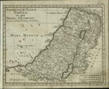 Geographiæ Sacræ Tabula in qua Terra Promissa : in suas Tribus Partesq : distincta