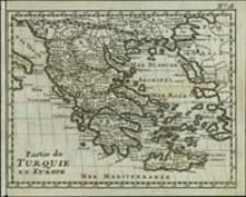 Partie de Turquie en Europe