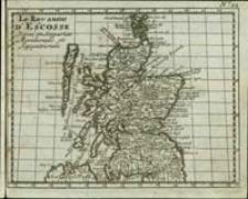 Le Royaume d'Escosse Divisé en Sesparties Meridionale et Septentrionale