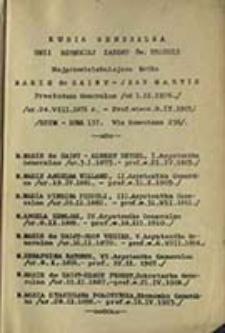 Katalog Prowincji Polskiej Unii Rzymskiej Zakonu św. Urszuli