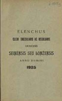 Elenchus Cleri Saecularis ac Regularis Dioecesis Łomżensis