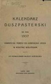 Kalendarz Duszpasterski : na rok ... Parafii św. Teresy od Dzieciątka Jezus w Rokitnie Wołyńskim