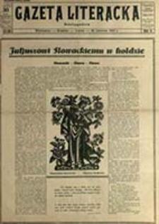 Gazeta Literacka / [red. nacz. i wyd. Jerzy Braun, red. odp. Witold Zechenter]