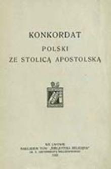 Konkordat Polski ze Stolicą Apostolską / [oprac. Adam Gerstmann]