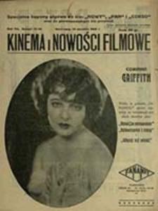 Kinema i Nowości Filmowe : niezależne dwutygodniowe czasopismo kinematograficzne / red. nacz. Jan Baumritter