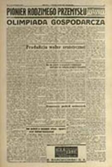 Pionier Rodzimego Przemysłu : tygodnik młodzieży szkół dokształcających zawodowych / [red. Piotr Wodziański]