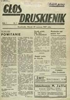 Głos Druskienik / red. odp. Maria Ziemakowa
