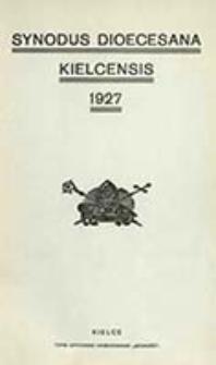 Synodus Dioecesana Kielcensis 1927