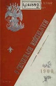 O cenzurach kościelnych i ekskomunikach w szczególny sposób Papieżowi zastrzeżonych / napisał Jan Ślósarz