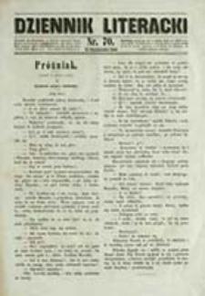 Dziennik Literacki / red. Karol Szajnocha