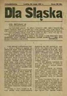Dla Śląska : jednodniówka / [red. Michał Hałgas]