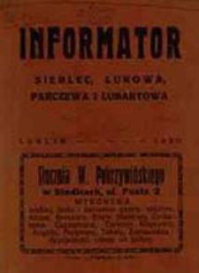 Informator Siedlec, Łukowa, Parczewa i Lubartowa