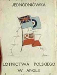 Jednodniówka Lotnictwa Polskiego w Anglii