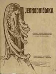 Jednodniówka / [Eugenja Żmijewska et al.]